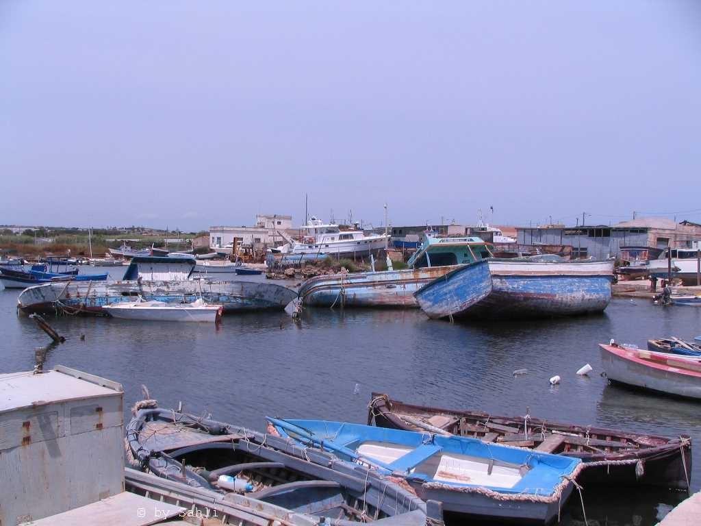 der Hafen von Potopalo di Capo Passero