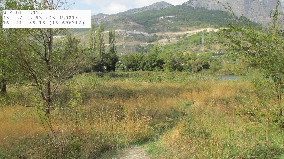 Flusslandschaft Cetina