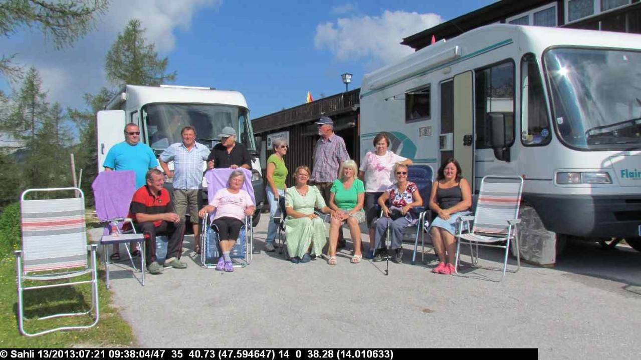 unsere Wanderkollegen von Lilos CamperfreundInnen