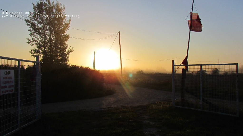 7:10 Sonnenaufgang