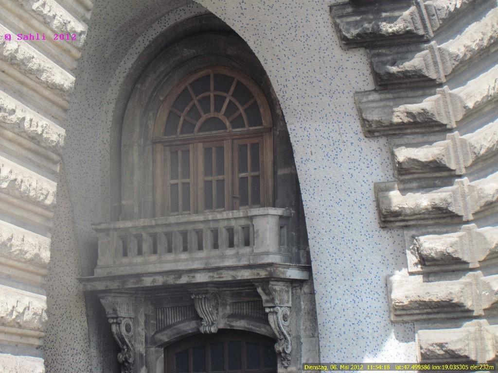 Balkon im Burgbergtunnel