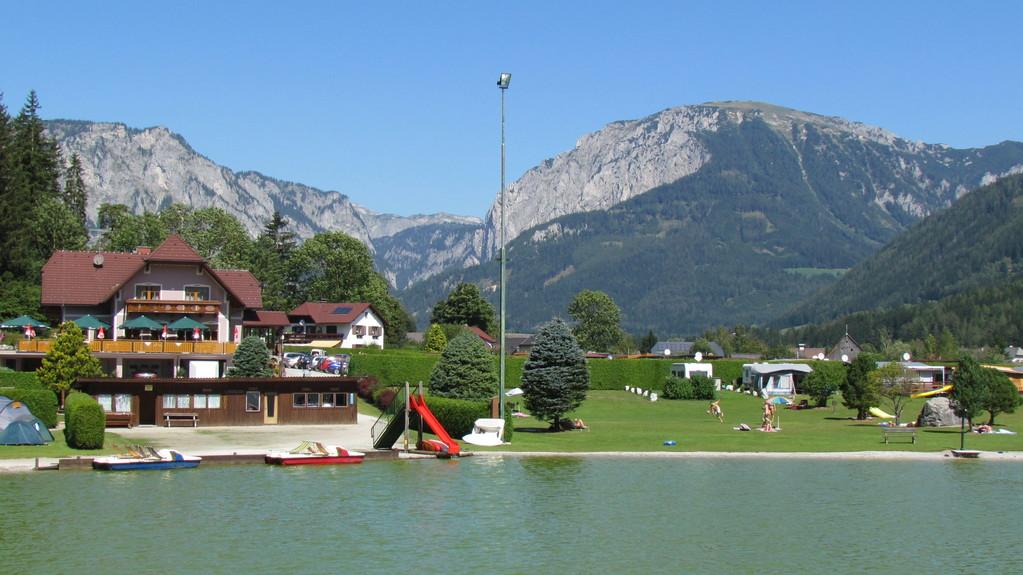 Restaurant mit Campingplatz