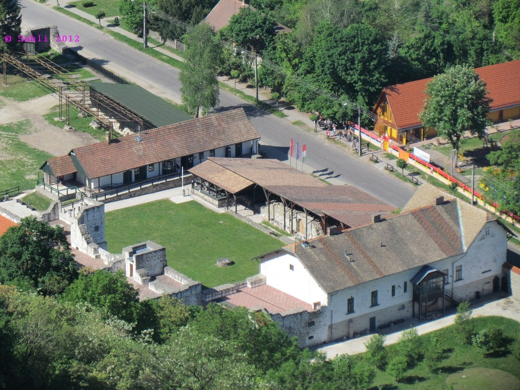 das gestrige Museum von oben