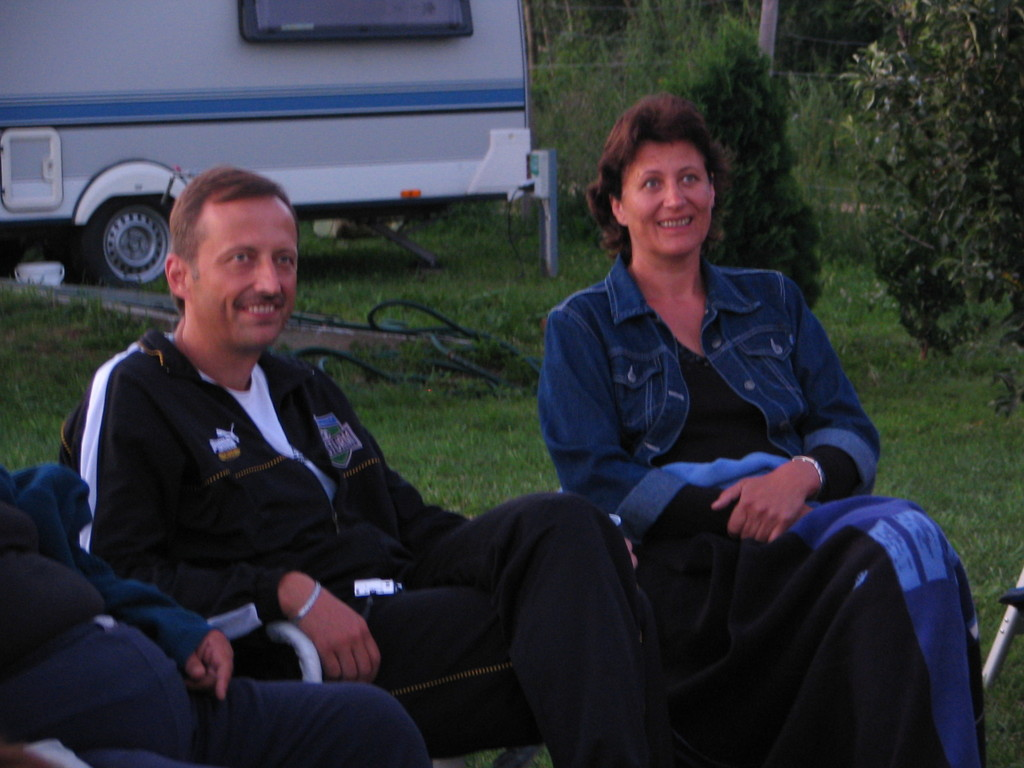 unsere Gastgeber Maria & Herbert