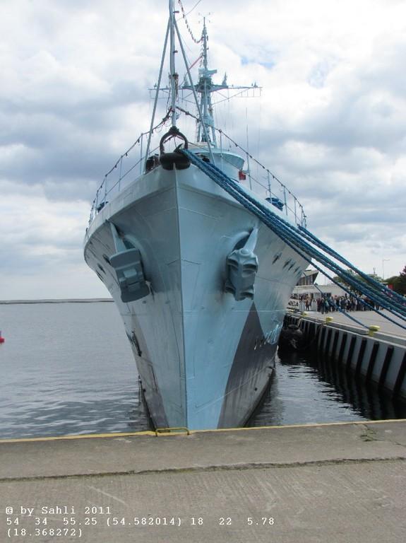 ORP Błyskawica (Museumsschiff) Zerstörer IIWK