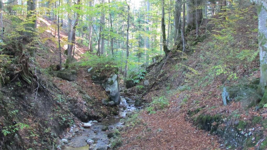Abfluss Sommersbergsee