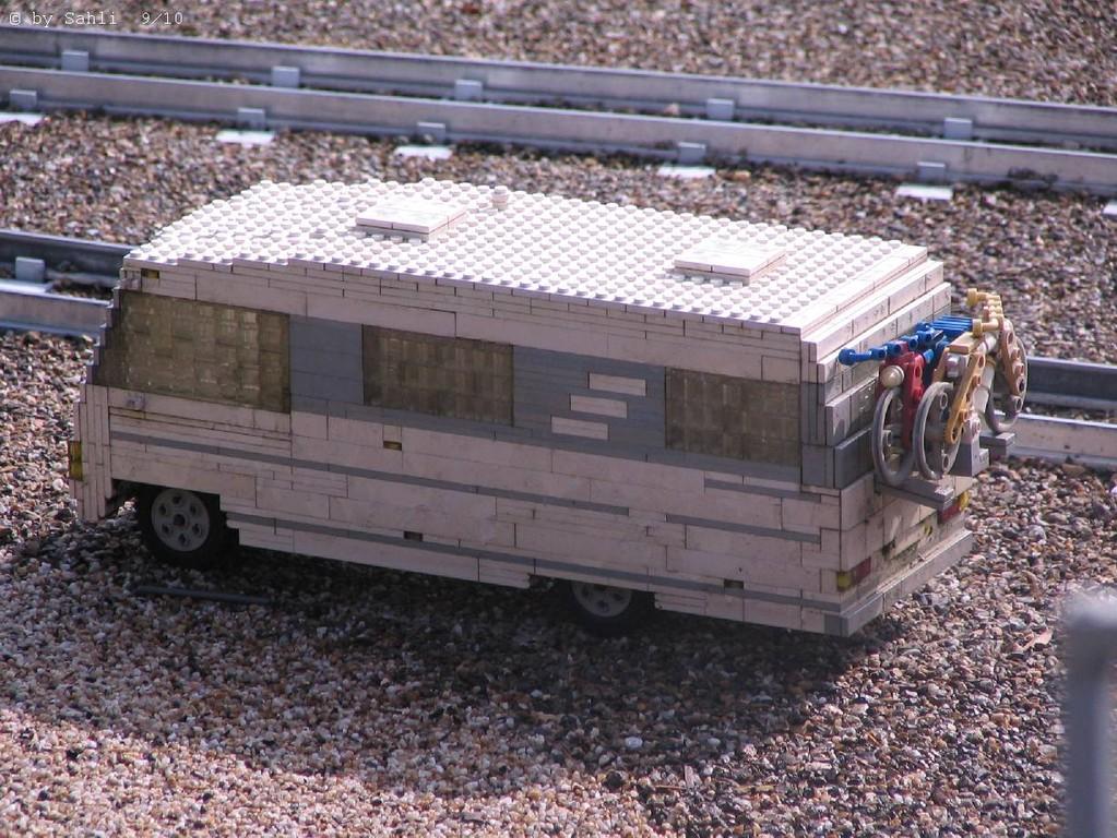 Alles gebaut aus Legosteinen