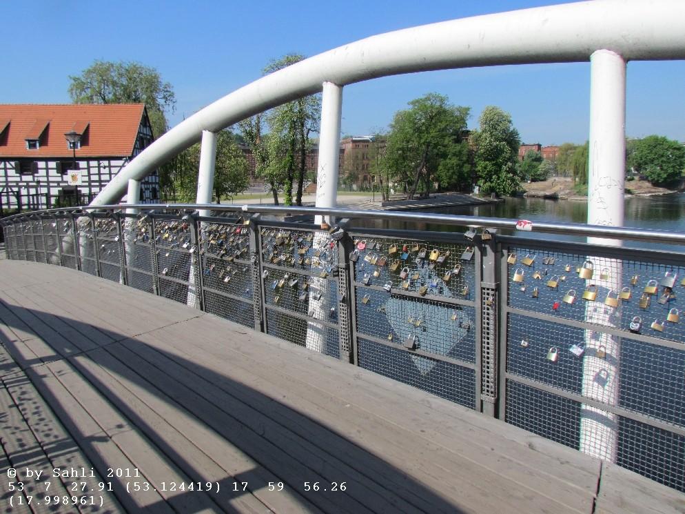 Eine der Brücken warum Bromberg Venedig des Nordens genannt wird