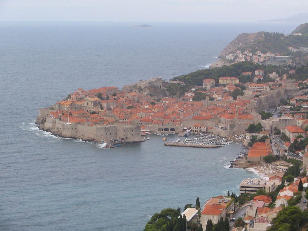 ein Blick auf Dubrovnik