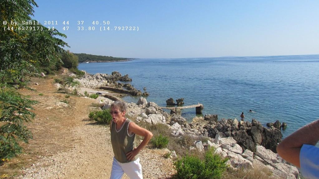 CP Strand zwischen Lun und Novalja