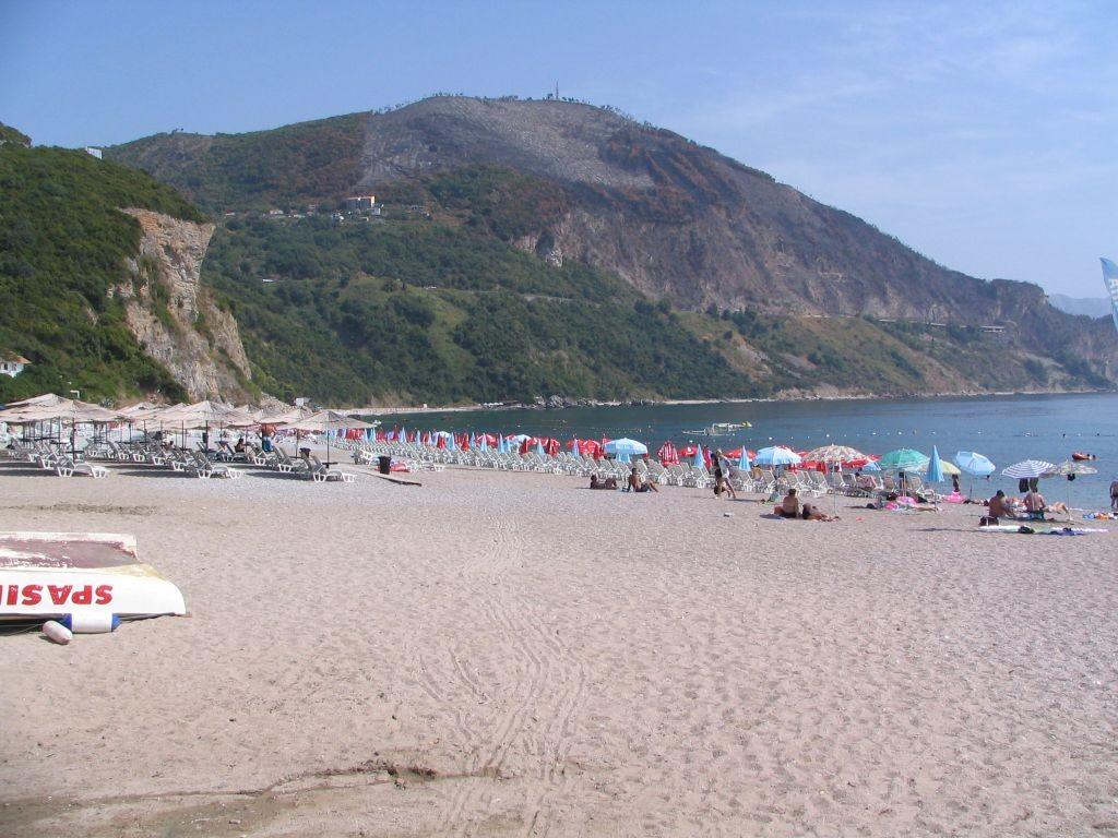 der Strand von Jaz
