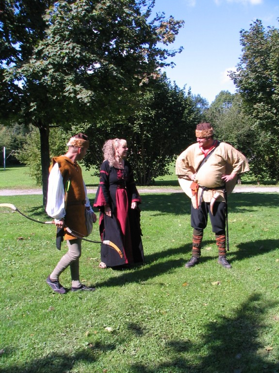 v.L.n.R. Manfred, Irina, (Spiesis) und börny(Kraxi)