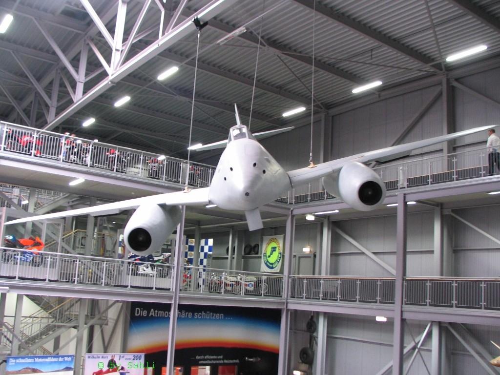 """erstes düsenflugzeug. """"ME 262"""""""