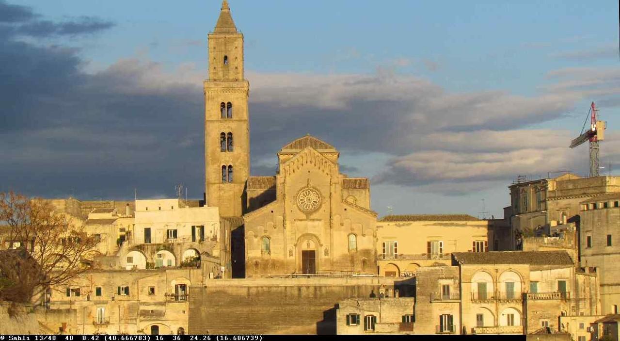 Matera. eine pulsierende Stadt