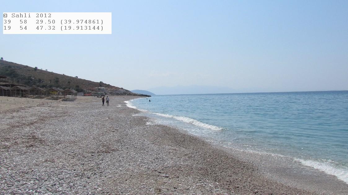 1 km Strand für uns alleine