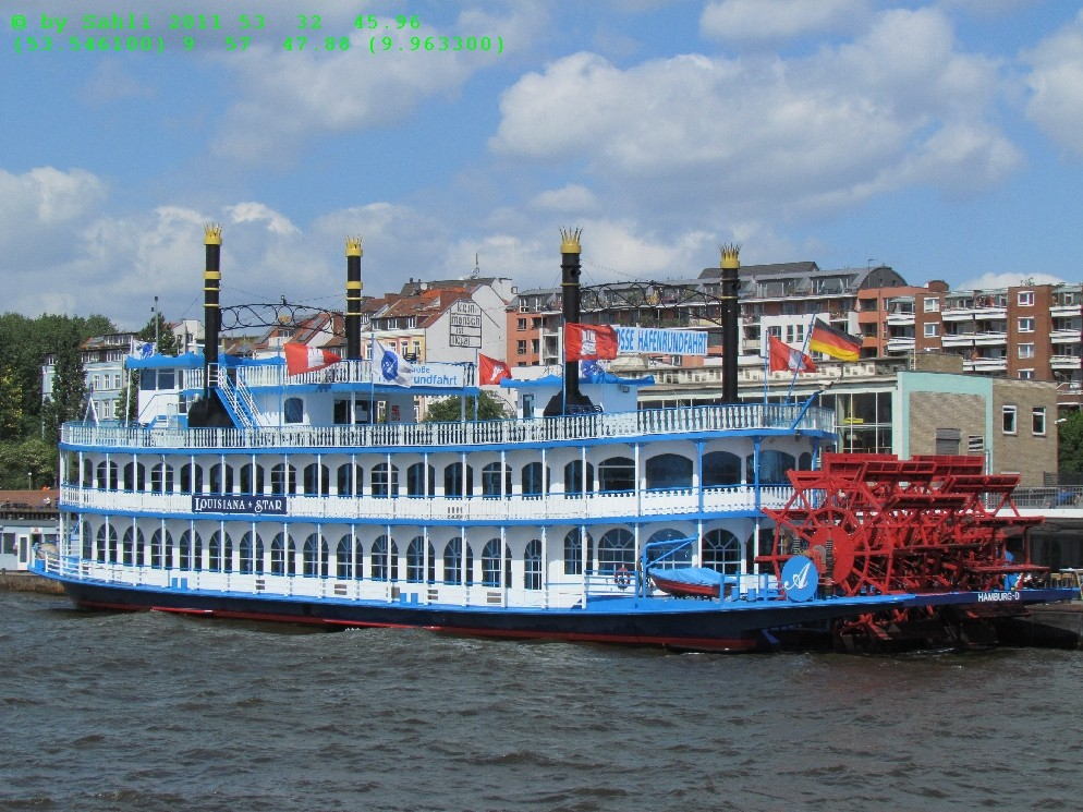Original Missisippi Steamboat
