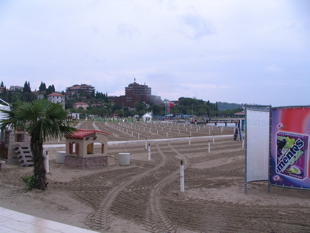 "noch einmal ""Strand"" in Portoroz"