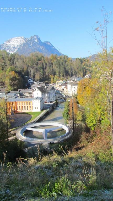 Geografischer Mittelpunkt Österreichs(Bad Aussee)
