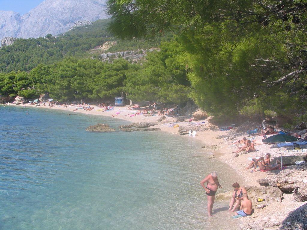 Strand bei Makarska
