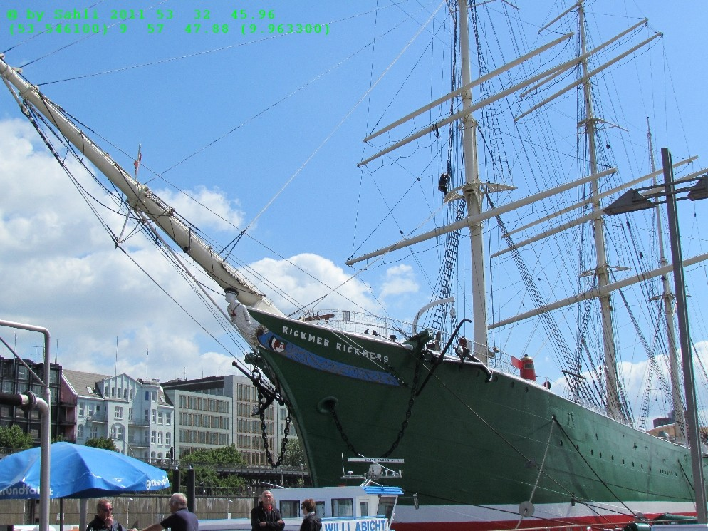 Museumsschiff Rickmer-Rickers