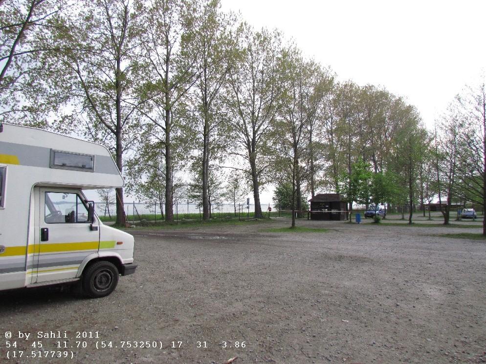 """Laska Gora"" oder Lonske Düne. PP (Stellplatz)"