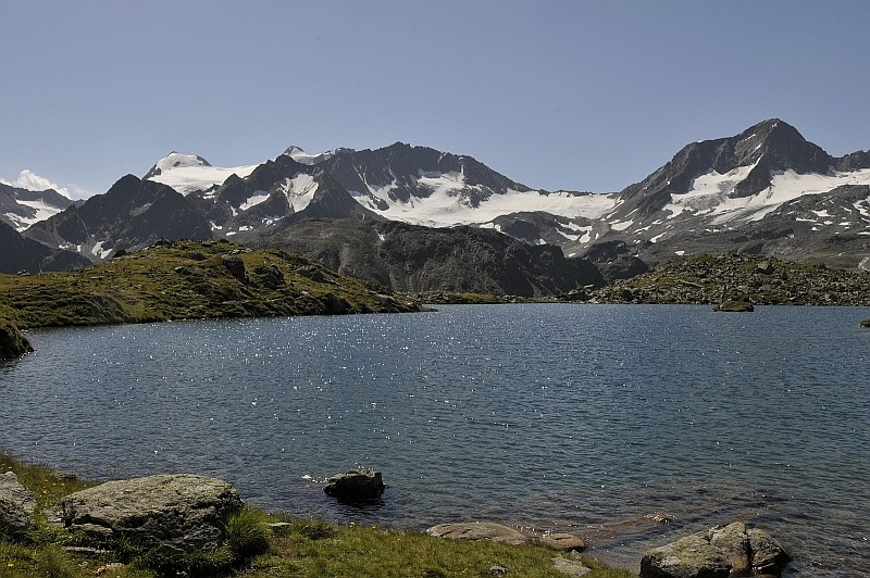 Mutterbergersee am Stubaier Gletscher