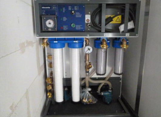 Système de filtration des eaux