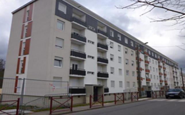 SNI –Sainte Barbe, rue St Blaise à Behren, travaux d'Isolation extérieure et bardage