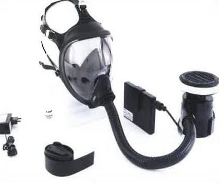 Equipement de protection respiratoire à ventilation assistée