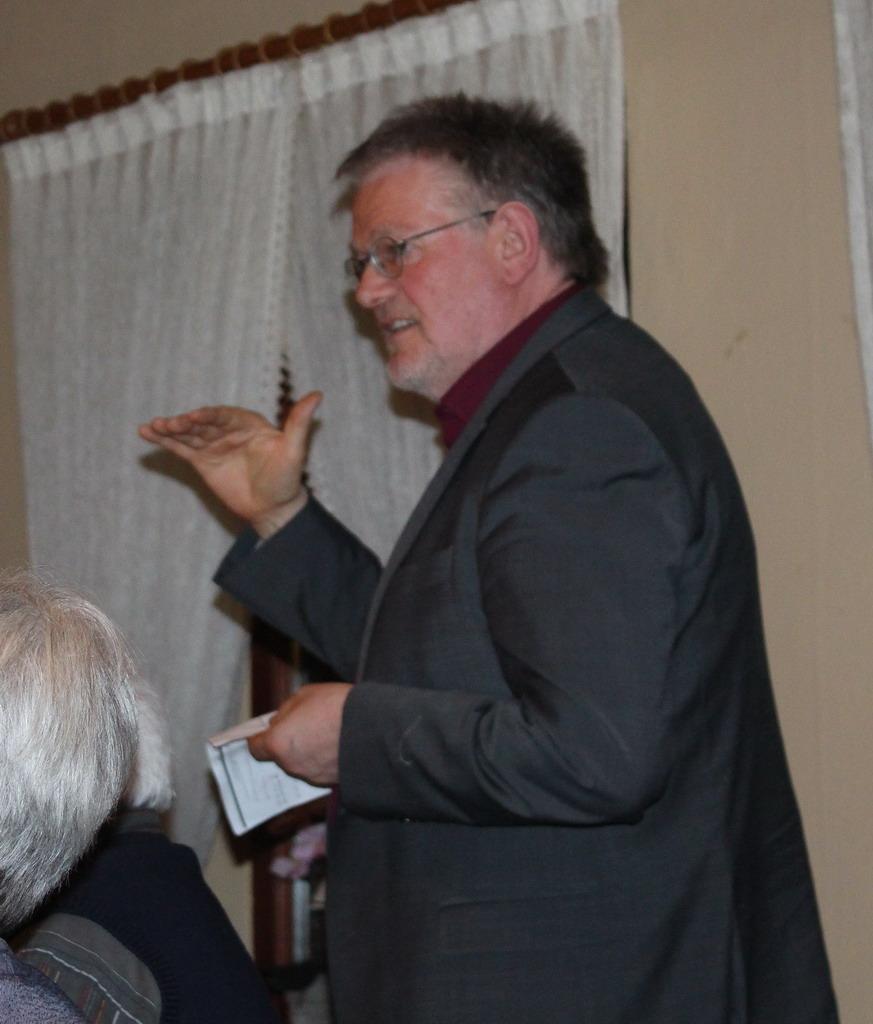 Unser Samtgemeindebürgermeister Reinhard Kock