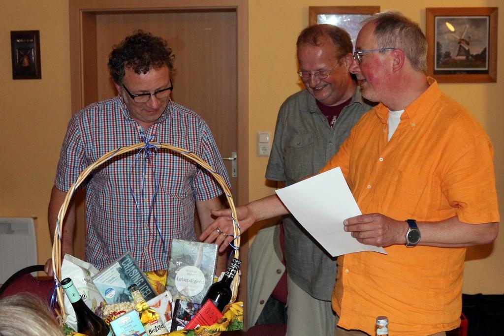 Claus Neubauer hat über 9 Jahre Vorstandsarbeit geleistet und ist fast 16 Jahre Mitglied mit der ganzen Familie