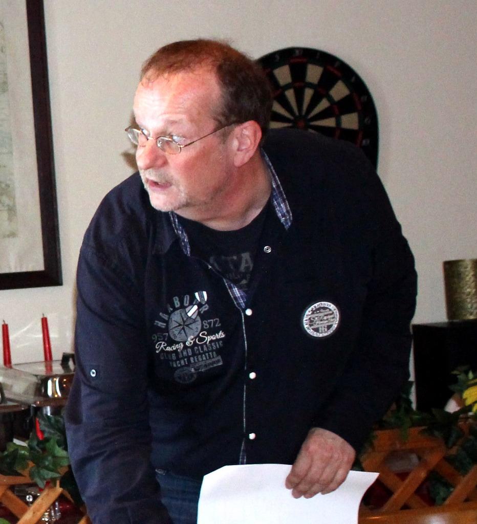 Frank Martin berichtete über die Kassenlage