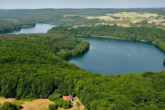 Łagów, Wasser und  Wälder. Jeziora i las