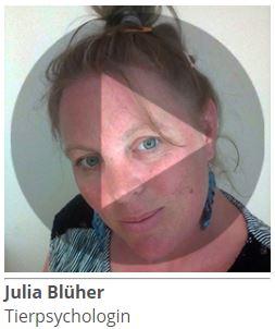 Julia Blüher, Tierpsychologin