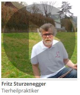 Fritz Sturzenegger, Tierheilpraktiker