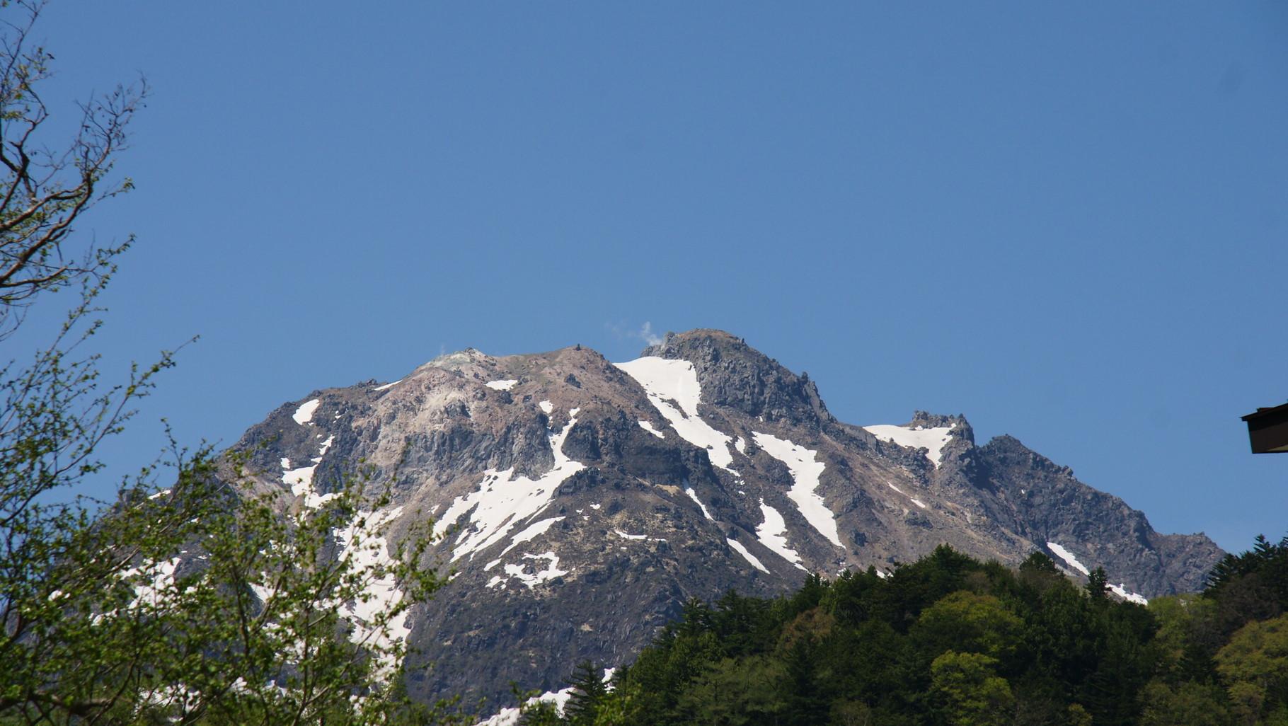 焼岳は活火山なのだ