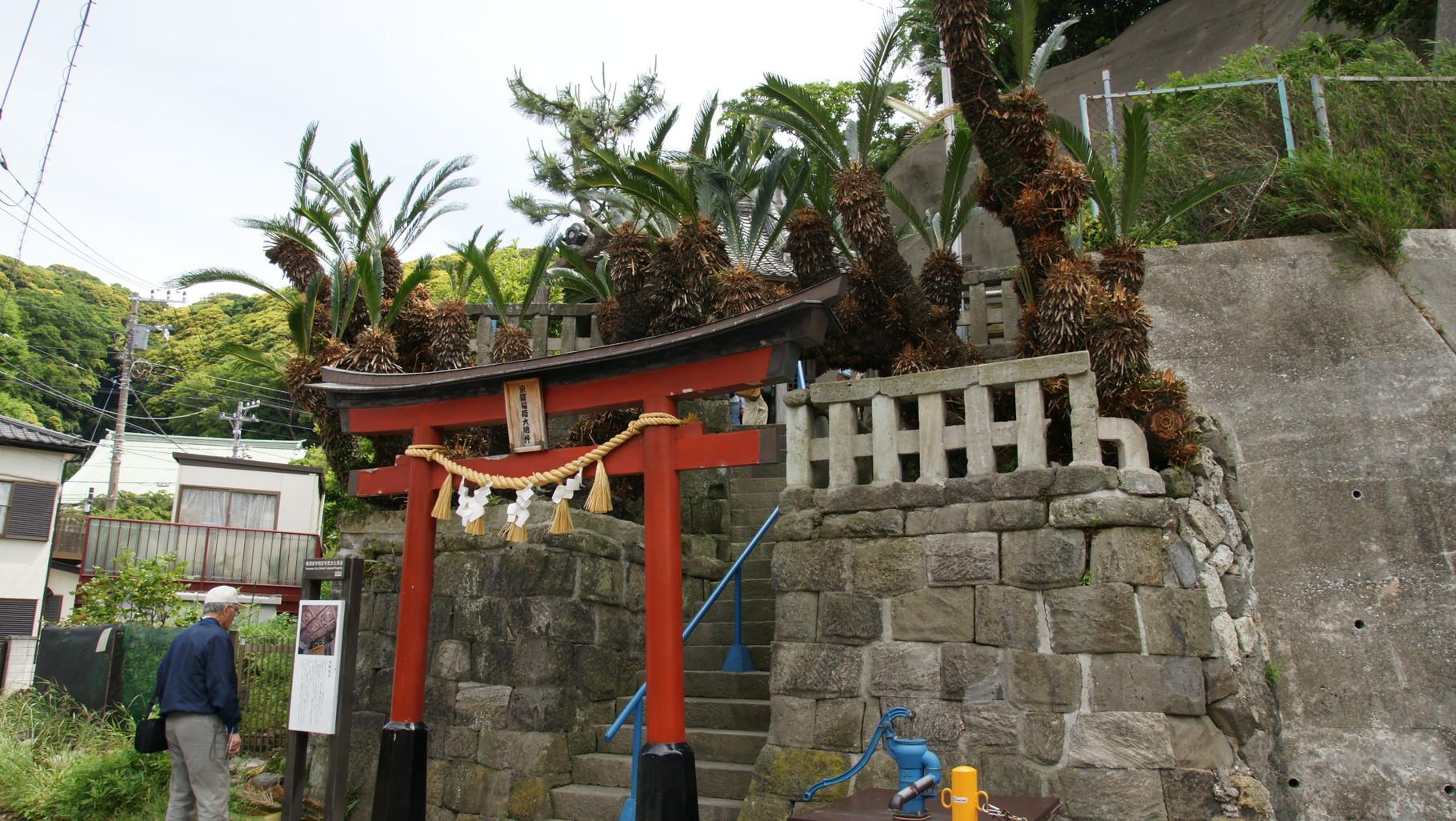 浦賀で最も贅沢に作られている稲荷