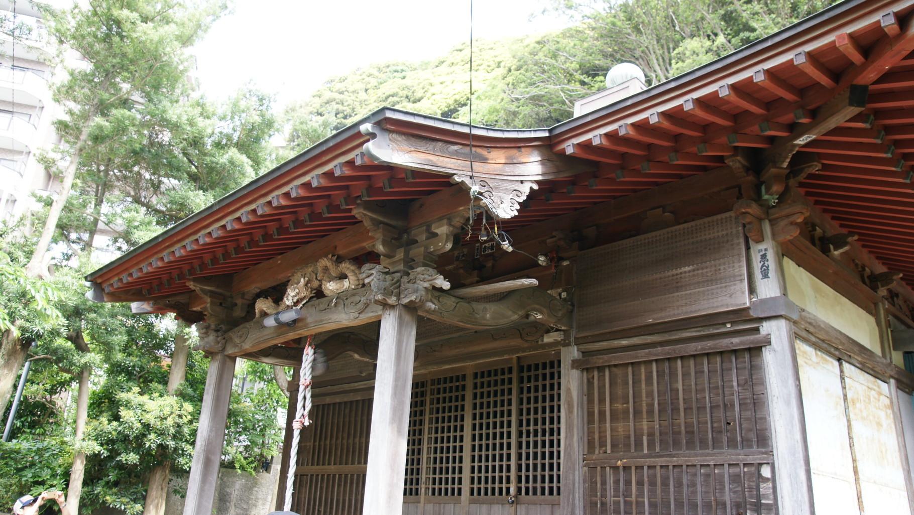 八雲神社、江戸時代山伏の道場として建てられたのが明治維新で神社になった