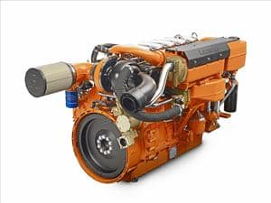 Scania 13-Liter Inline Marine Engine