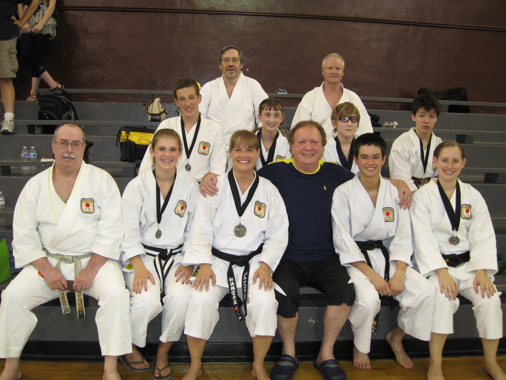 TKA medalist with Sensei M. Phipps (SSKI Great Britian)