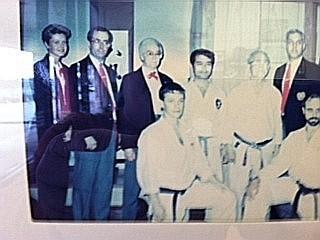 Nagamine Sensei dojo   1986
