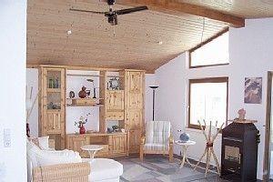 Wohnraum Keltic-Lodge