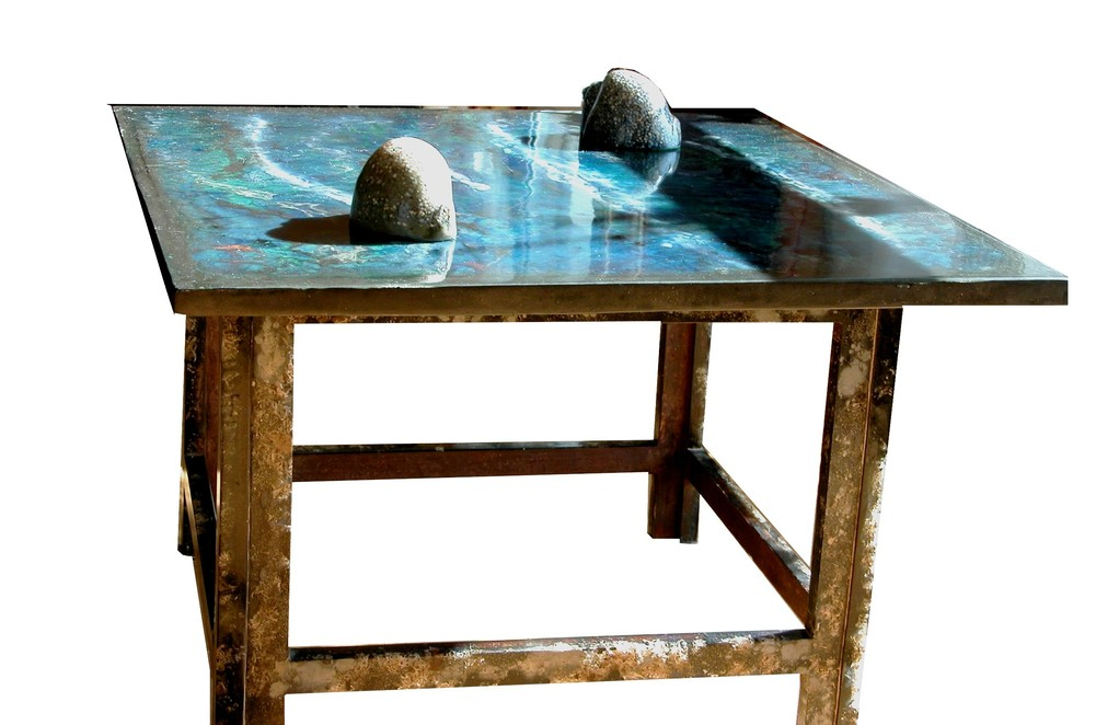 "Table ""coquillage et lichens"""