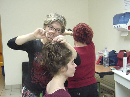 Loge coiffure-maquillage