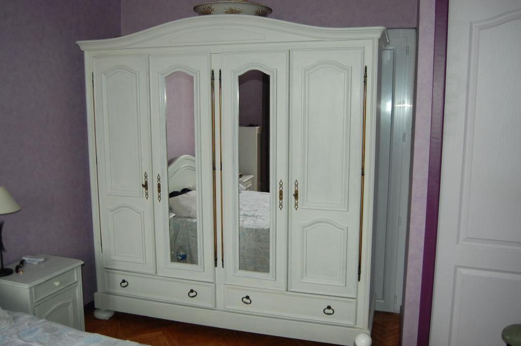 enlèvement de l'ancienne armoire