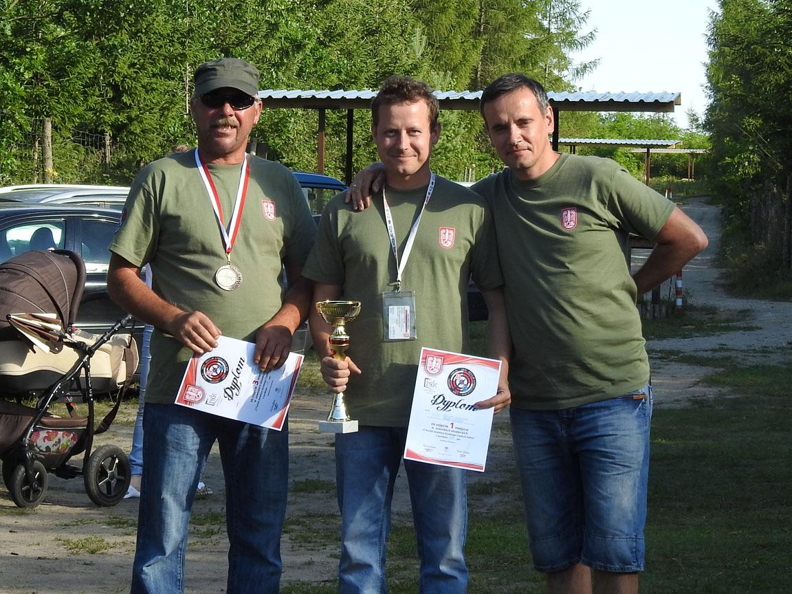 Zwycięzcy w IV Zawodach strzeleckich o Puchar Dyrekrora Ryńskiego Centrum Kultury!
