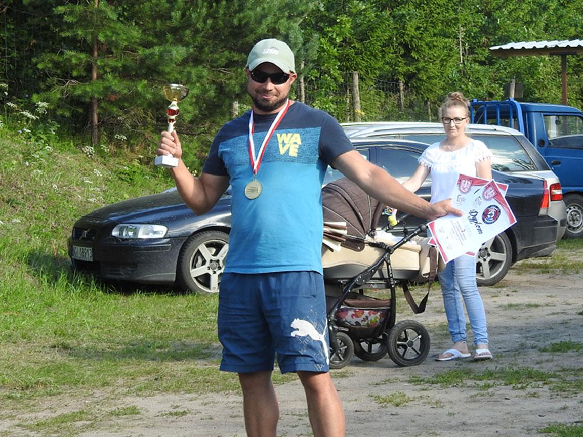 II miejsce w klasyfikacji drużynowej