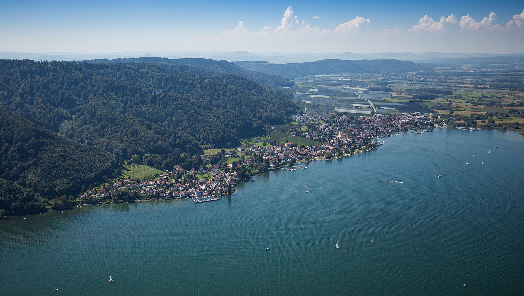 Luftaufnahme von Bodman