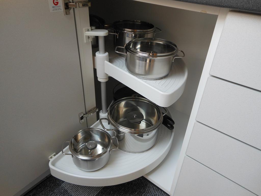 Küche Kochtöpfe und Pfannen