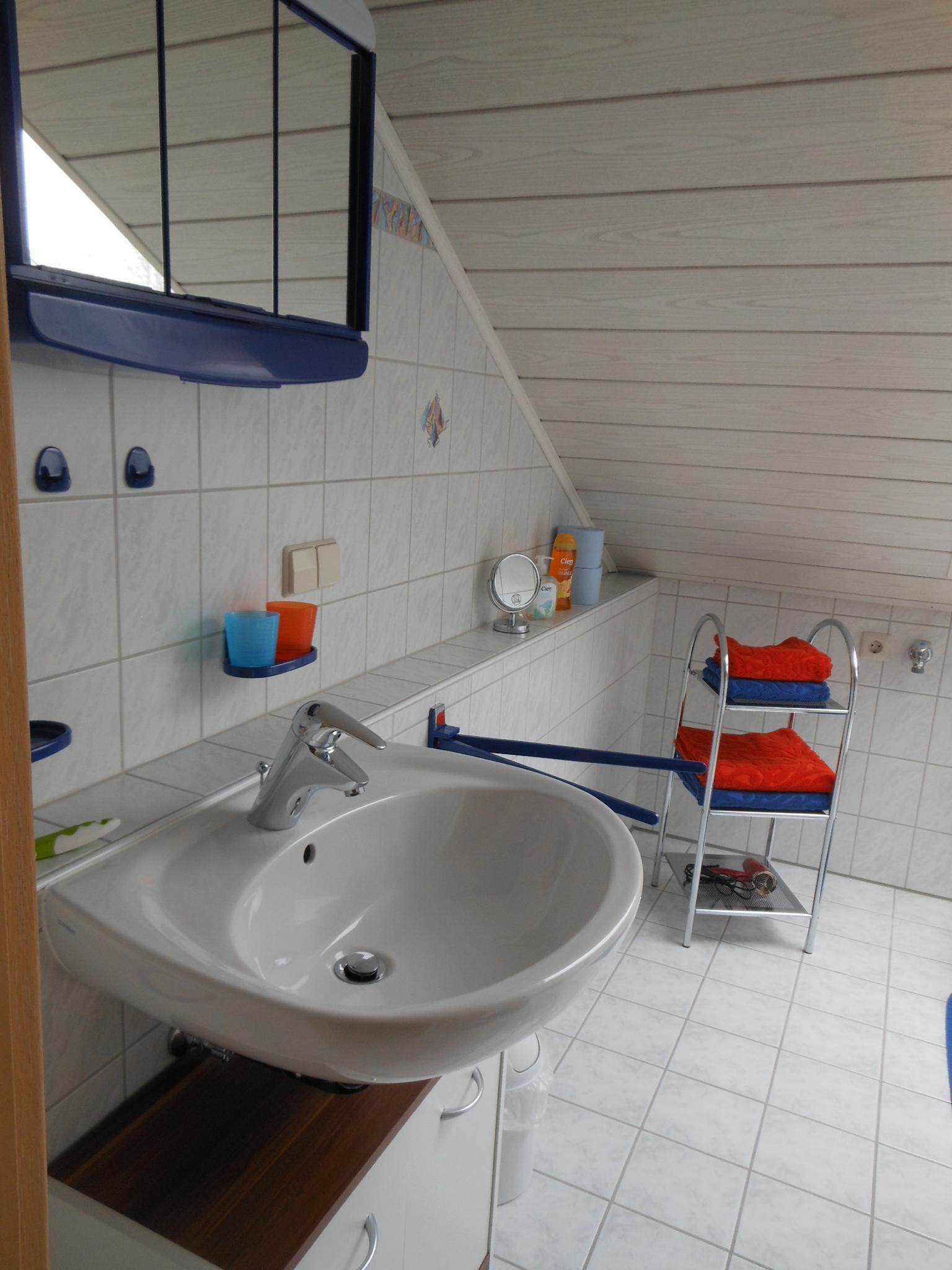 Bad mit Spiegelschrank